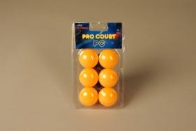 Мячи для настольного тенниса Pro Court 3 Stars